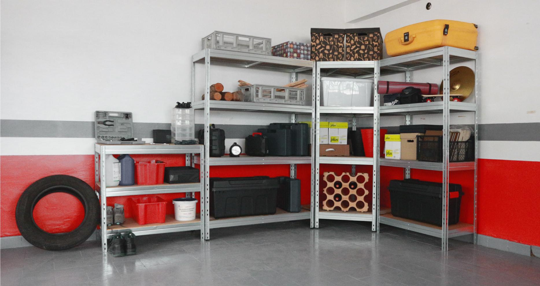 Ordnung und Organisation in der Garage