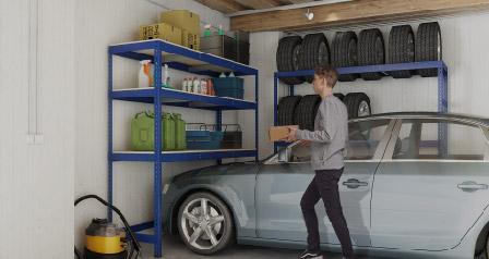 Garagenregale selber bauen und anpassen mit Master Regale