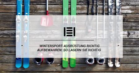 Wintersport-Ausrüstung richtig aufbewahren: So lagern Sie richtig