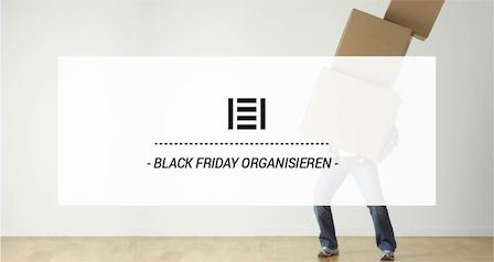 Blog Master Regale · BLACK FRIDAY ORGANISIEREN