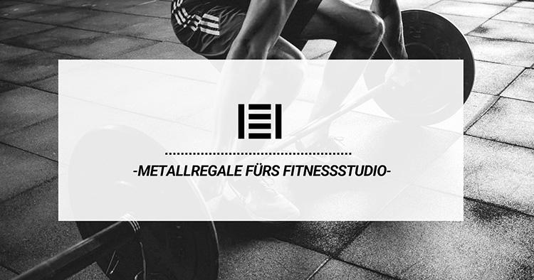 Metallregale fürs Fitnessstudio| Master Regale
